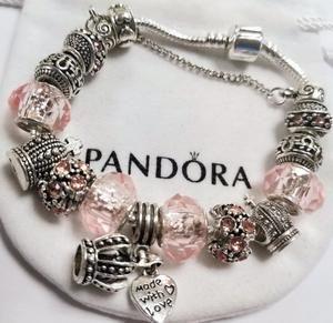 Pandora Bracelet with all Charms sale